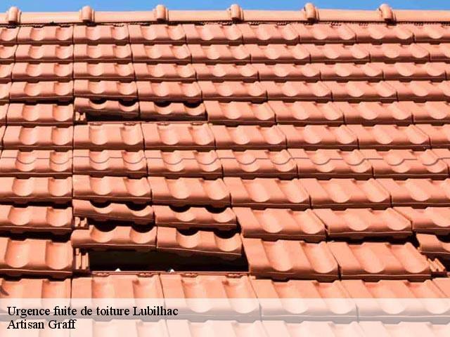 Entreprise réparation fuite de toiture à Lubilhac tel: 04.82.29.30.93